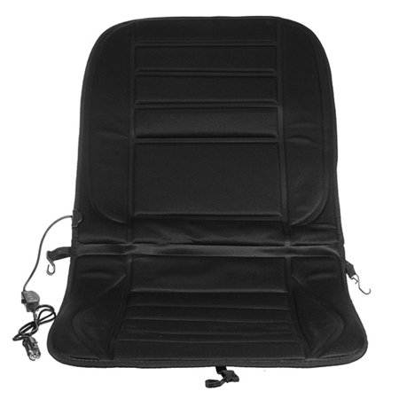 12V Car Heated Padded Seat Cushion Cover Warmer. Ideal item for use on the cold winter morning. .Simple to fit, plug into cigarette lighter power socket for luxurious warmth. Universal fit for all car - image 3 of 7