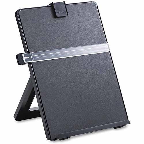 Fellowes Non-Magnetic Letter-Size Desktop Copyholder, Plastic, Black
