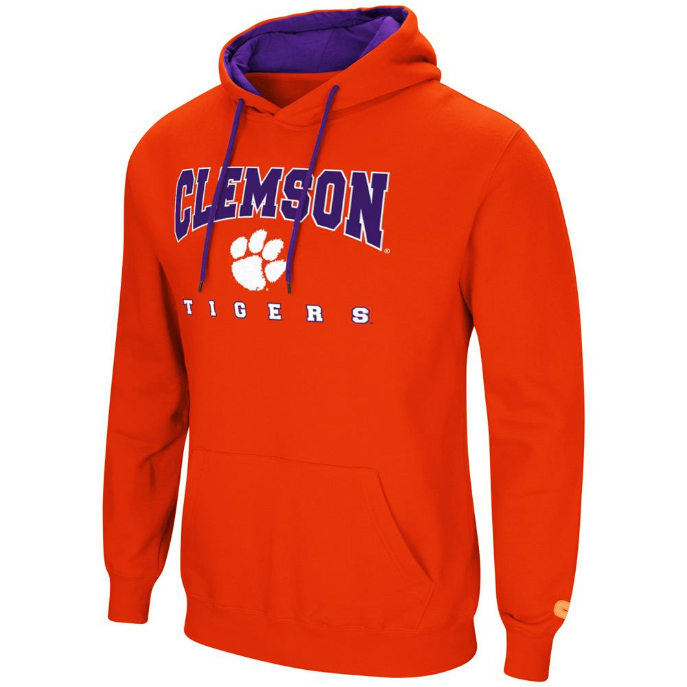 Clemson University Tigers Men's Hoodie Pullover Hooded Sweatshirt