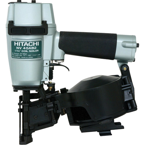 "Hitachi 1 3/4"" Roofing Coil Nailer, Side Load"