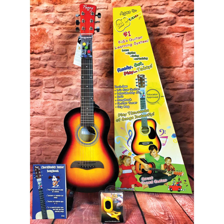 Chordbuddy Jr Guitar Vintage Sunburst Pack Walmart