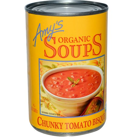 Amy's, Organic Soups, Chunky Tomato Bisque, 14.5 oz (pack of