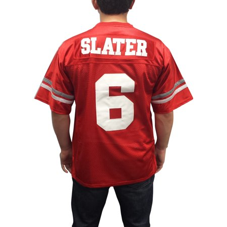 A.C. Slater #6 Bayside Football Jersey Saved By The Bell AC Costume Uniform TV