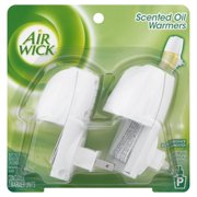 Air Wick Scented Oil Air Freshener Warmer, 2 Count