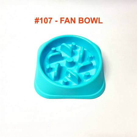 Alpha Dog Series Fun Slow Feeder Bowl - FAN (BLUE) Series Dog Bowl