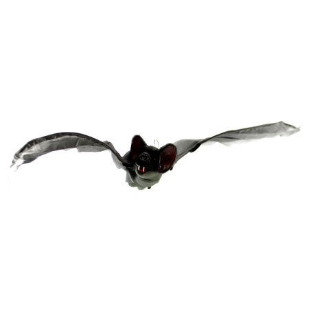 Halloween ANIMATED BAT Synthetic Button Or Noise Activated 6651162