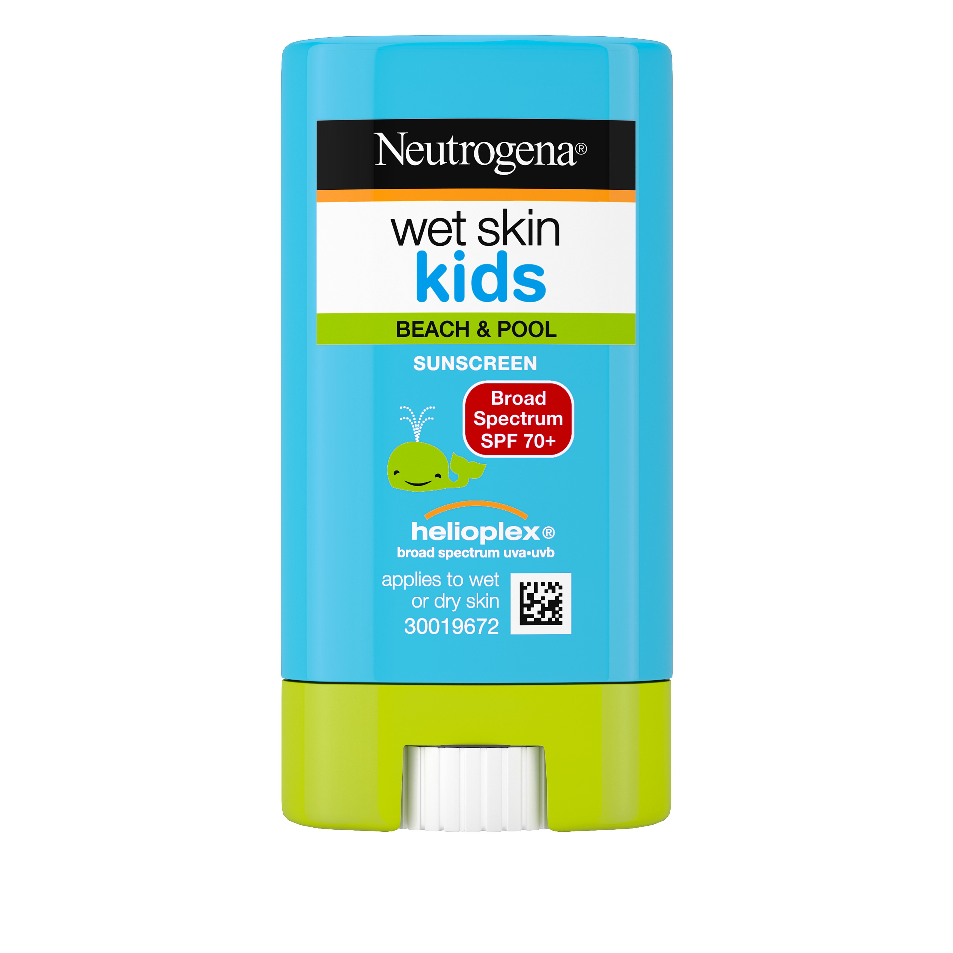 Neutrogena Wet Skin Kids Sunscreen Stick SPF 70 0 47 oz Walmart