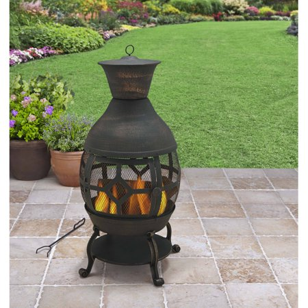 Better Homes and Gardens Cast Iron Chiminea, Antique ...