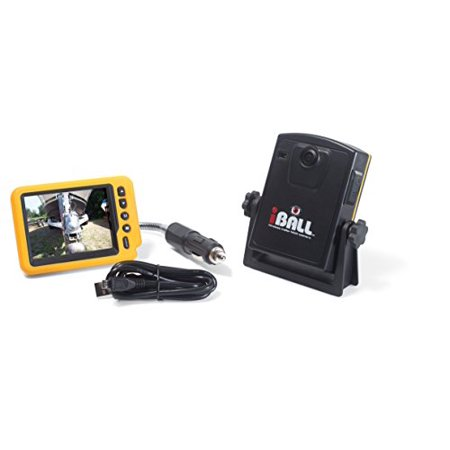 iBall 5.8GHz Wireless Magnetic Trailer Hitch Car Truck Rear View Camera LCD (Lcd Rear View Camera)