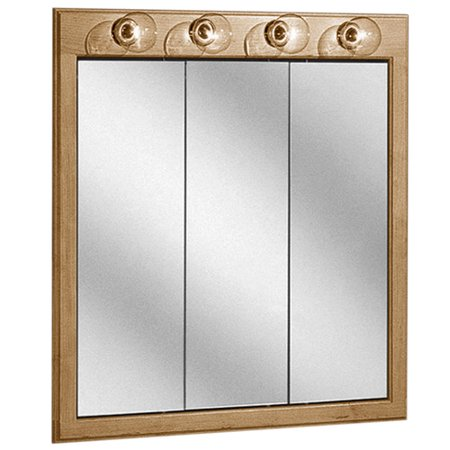 Coastal Collection Salerno Series Lighted 30 X 33 Recessed Or