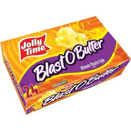 Jolly Time Blast O Butter Ultimate Movie Theatre Microwave Popcorn  Bulk