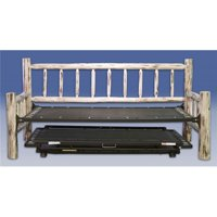 Trundle Bed  Day Bed with T. mech - Ready To Finish