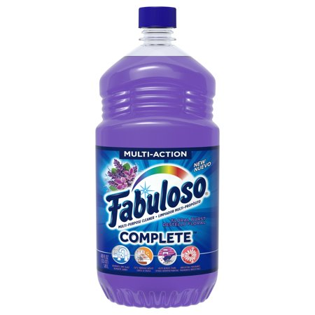 (2 pack) Fabuloso Complete All-Purpose Household Cleaner, Floral Burst - 48 fluid (Eco Friendly Household Cleaners)