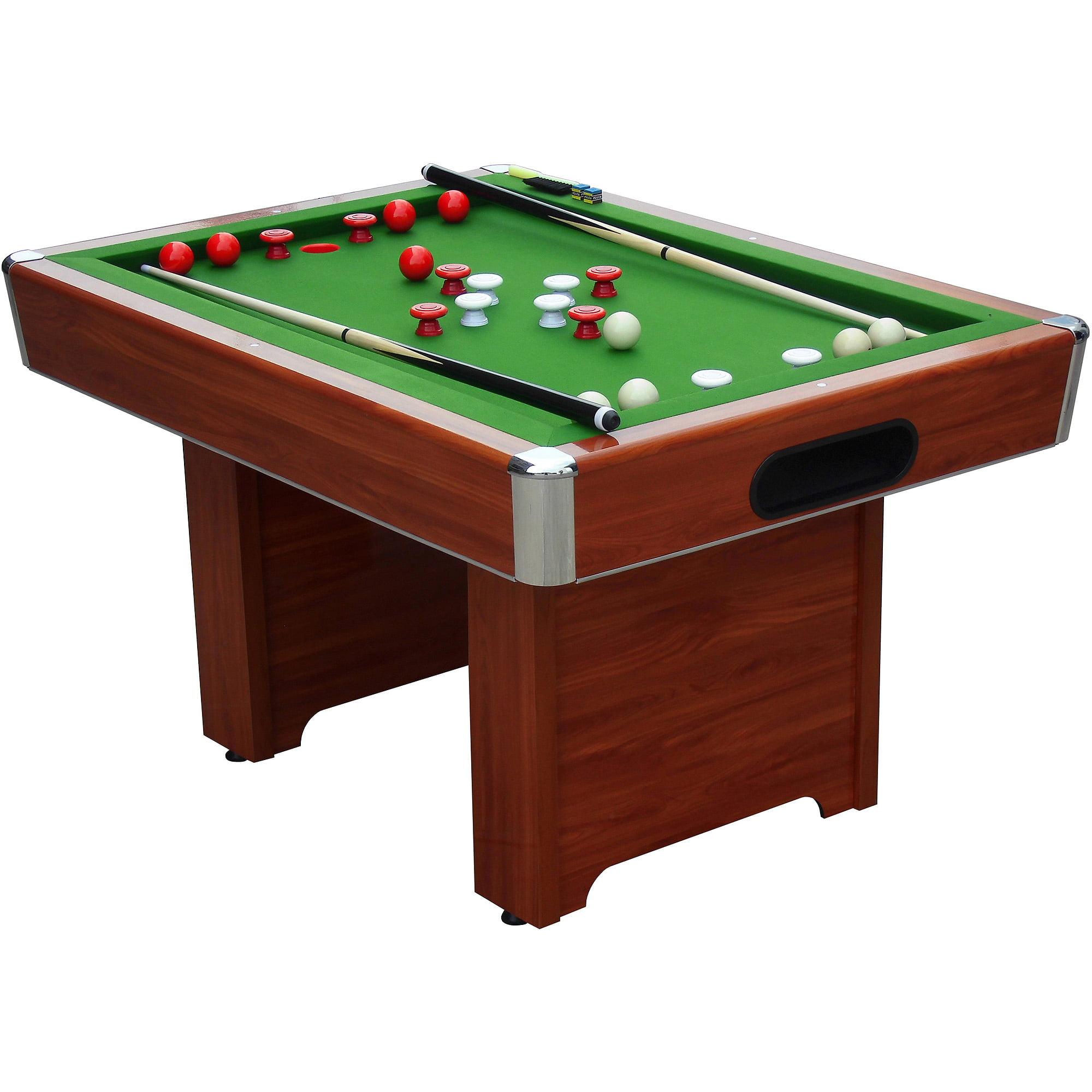 Playcraft Hartford Slate Chery Bumper 4.5' Pool Table