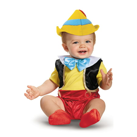 Pinocchio Deluxe Infant Costume - Pinocchio Infant Costume