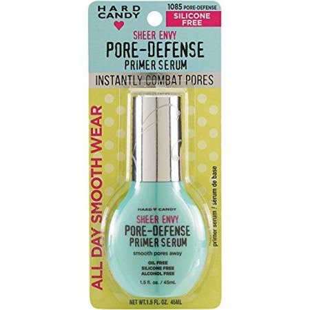 hard candy sheer envy pore-defense primer serum mist,