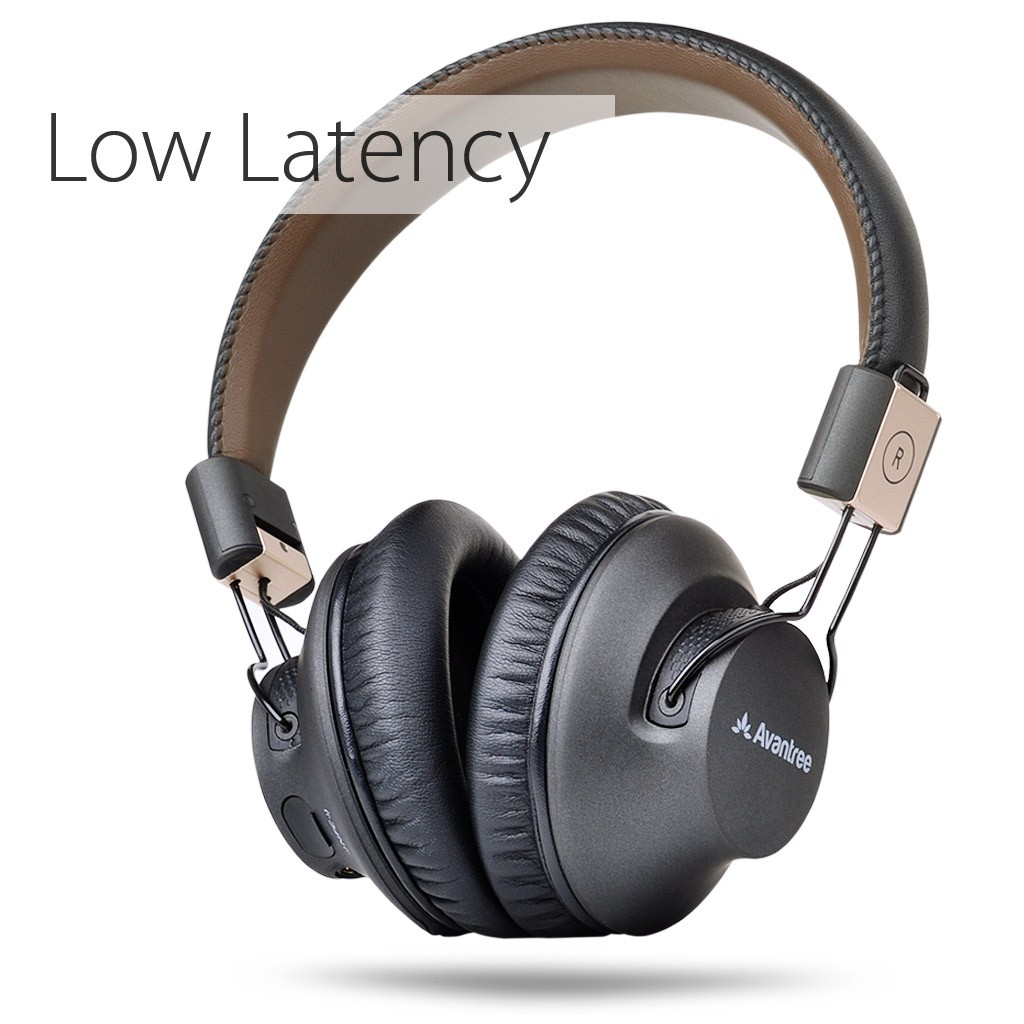 Avantree Audition Pro aptX LOW LATENCY Bluetooth V4.1 Over Ear Headphones