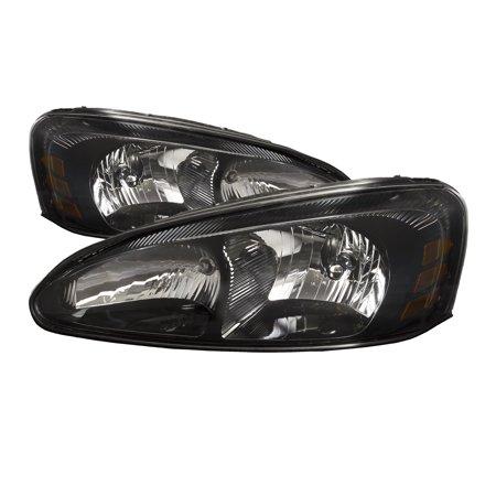 2004-2008 pontiac grand prix new headlights set halogen headlamp pair  assembly gm2502227 & gm2503227 - walmart com