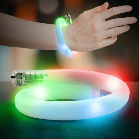 Multi Color LED and Light - Up Tube Bracelet, By Windy City Novelties - Windy City Coupon