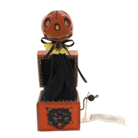 Halloween JACK IN THE BOX. Polyresin C.R. Mcclennig Studio 24107](Is This Halloween Jack)