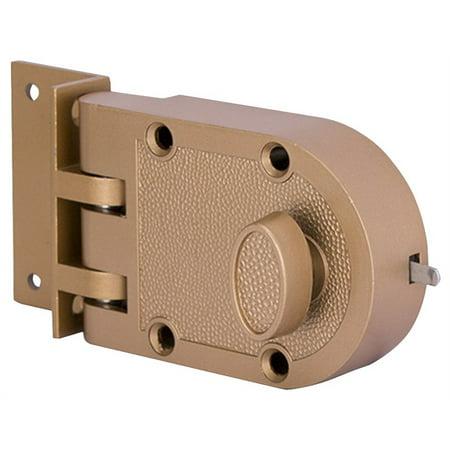 PROSOURCE 6296404-PS Single Cylinder Jimmy Proof Lock 2 Keys Keyed Different 5 Brass