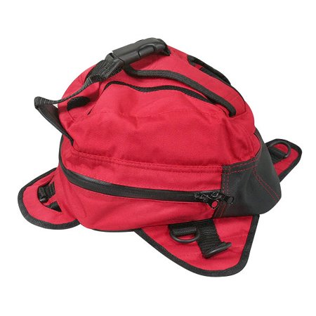 Xelement XS676 Magnetic Red Tank Bag