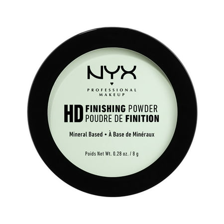 NYX Professional Makeup High Definition Finishing Powder, Mint Green