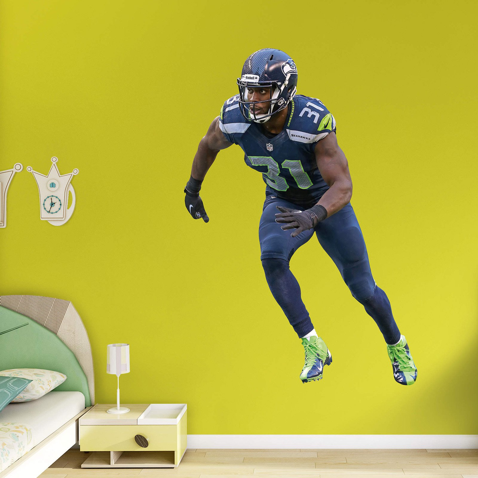 Fathead NFL Seattle Seahawks Kam Chancellor Wall Decal - Walmart.com
