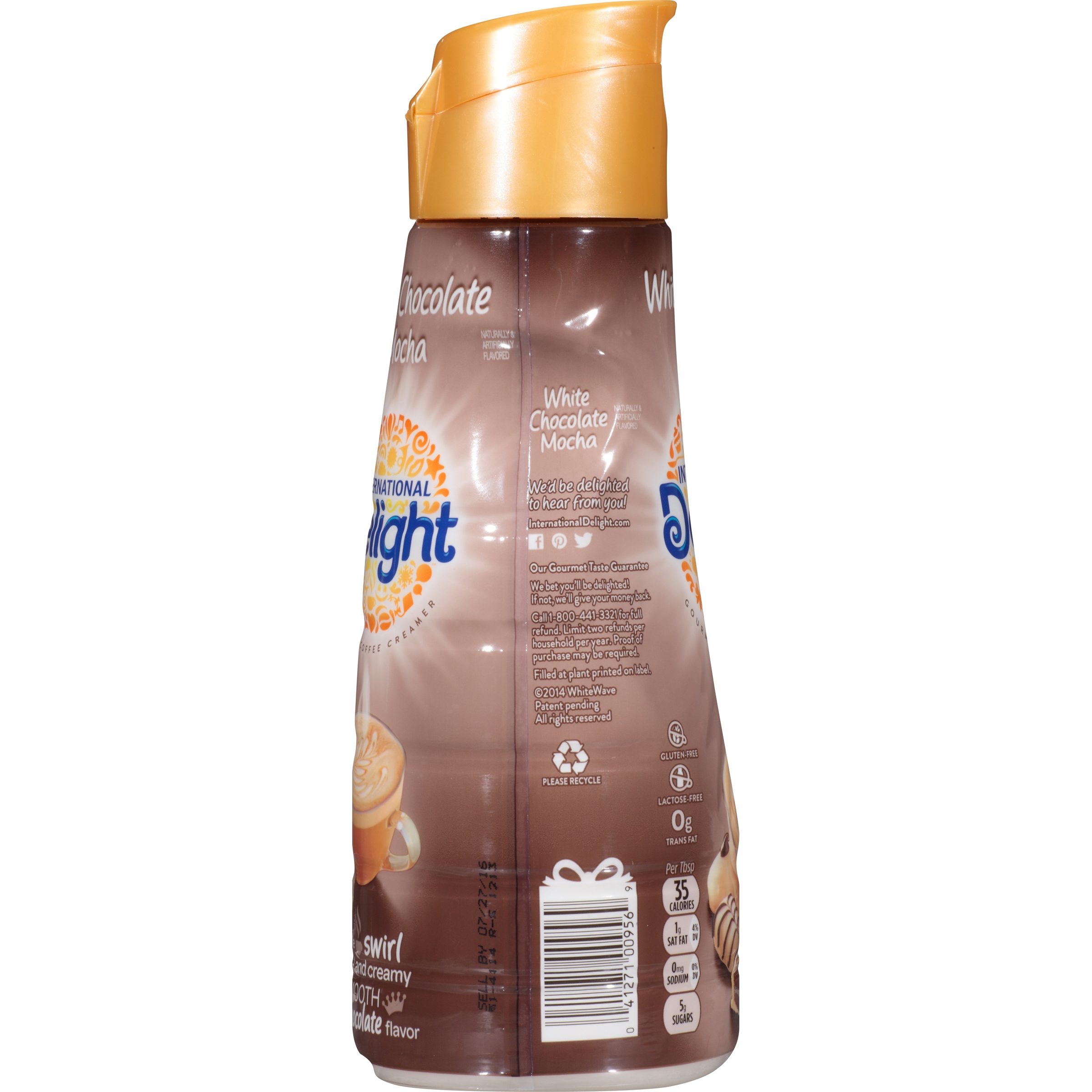 International Delight White Chocolate Mocha Coffee Creamer, Quart ...