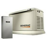 Generac 7043 Generator, 22kW, 120/240V, Standby with Transfer Switch