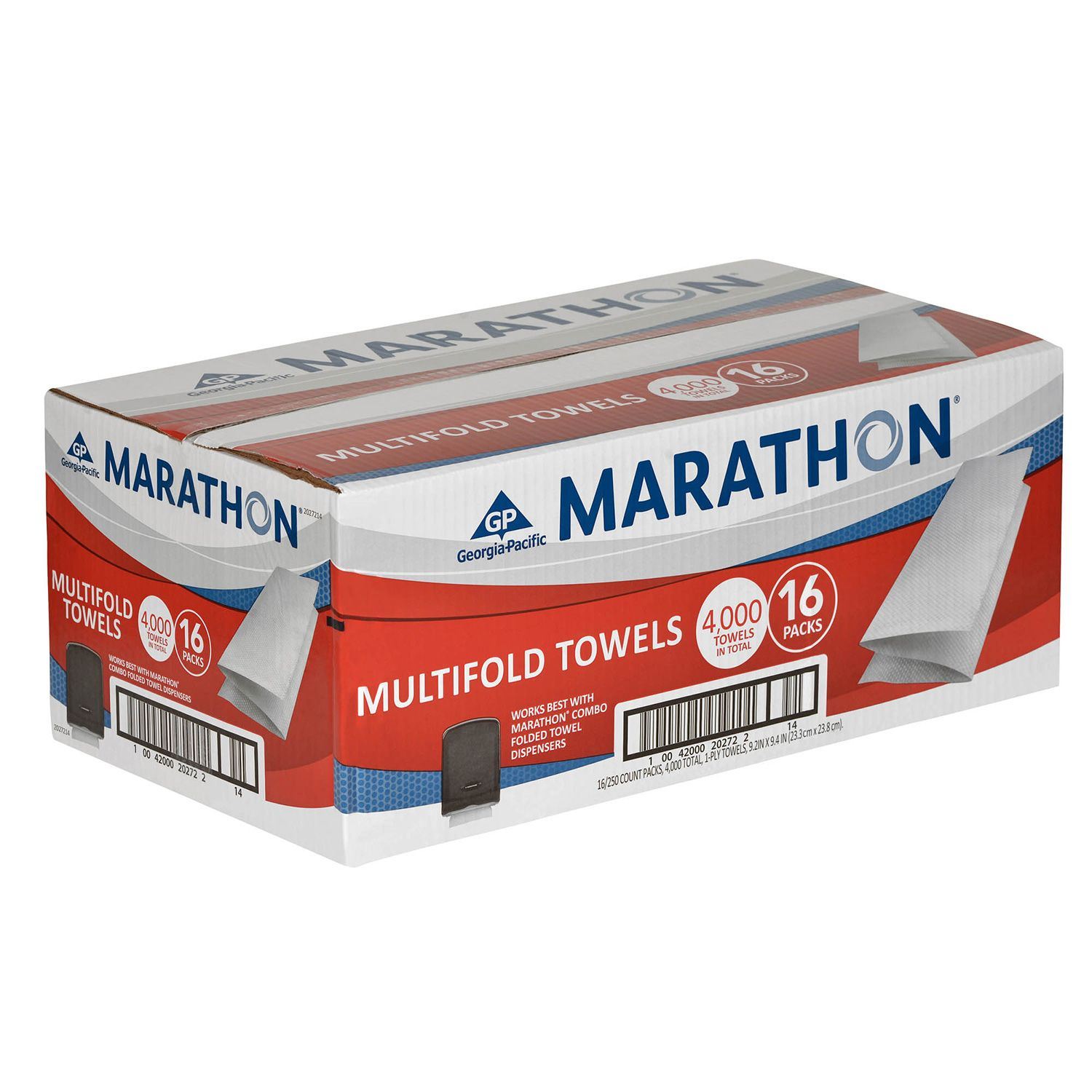 Marathon Multifold Paper Towels - 4,000 ct.