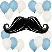 Mustache Little Man - Party Balloon Kit