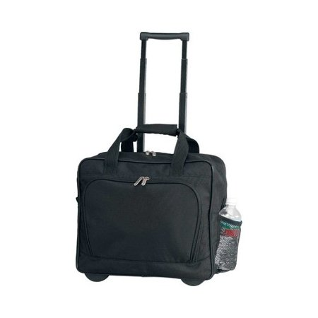 Preferred Nation P4522 Rolling Computer Case Black -