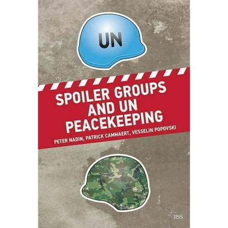 Spoiler Groups And Un Peacekeeping