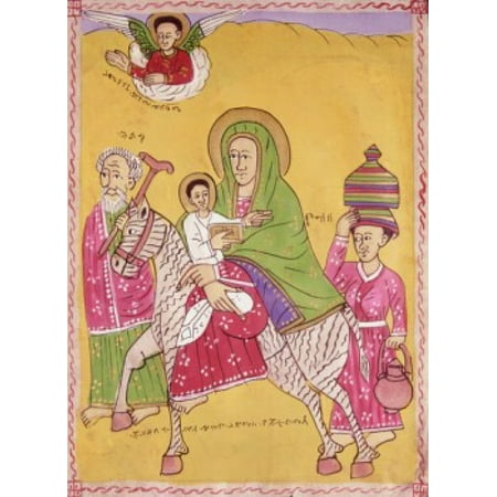 The Holy Family 5th C Artist Unknown Canvas Art - (24 x 36)