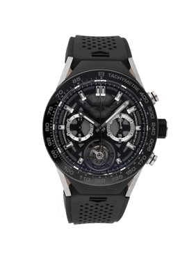 Pre-Owned Tag Heuer Watch Connected Modular 45 SBF8A8001.11EB0099 (15 Month WatchBox Warranty)