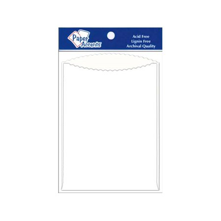 Pocket 5X7 8Pc White
