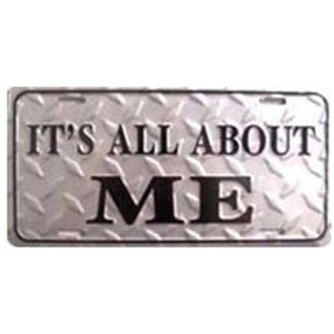 LP-321 It s All About Me License Plate- 2345