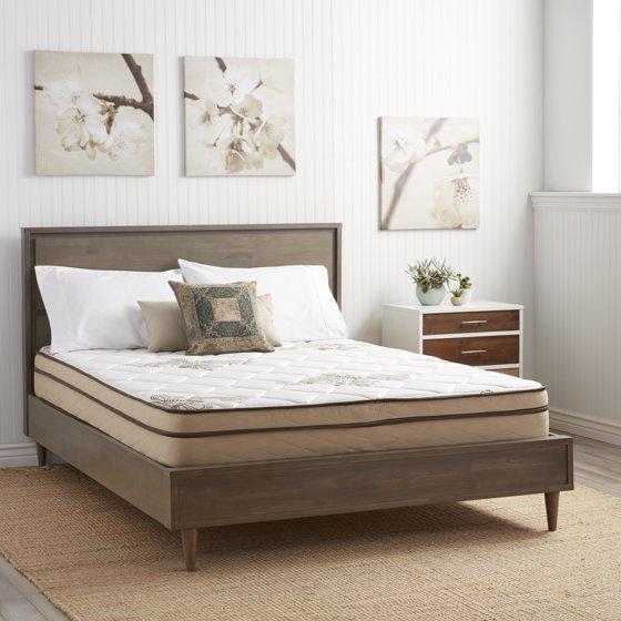 nuform quilted euro top 9 inch short queen size rv foam mattress. Black Bedroom Furniture Sets. Home Design Ideas