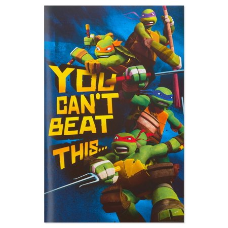 American Greetings Teenage Mutant Ninja Turtles Birthday Card for Boy