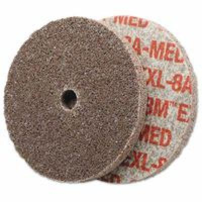 SCOTCH-BRITE 61500085404 Unitized Wheel,3 Diax1//4 Wx3//8,AO,MED