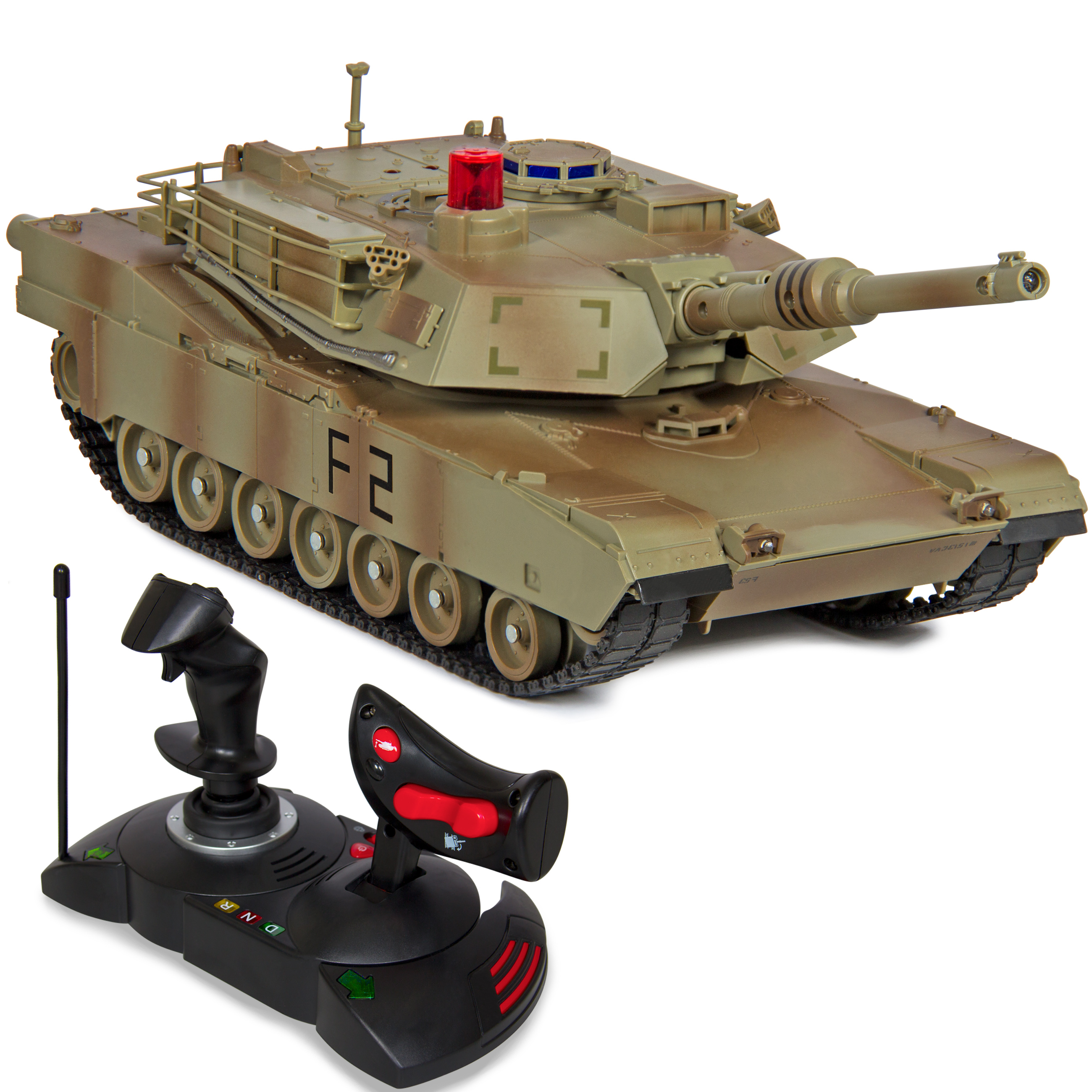 Best Choice Products 1 14 Scale RC Military Tank Gravity Sensor Remote Control Car- Green Camouflage by
