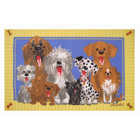 Fun Rugs Wags & Whiskers The Dogs of Duckport 39