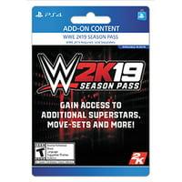 WWE 2K19 Season Pass, Take-Two, Playstation, [Digital Download]
