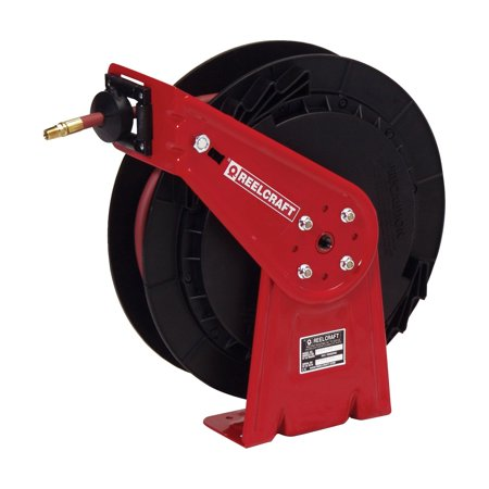 Reelcraft Medium Pressure Oil 3 8 In  Hose Reel   50 Ft