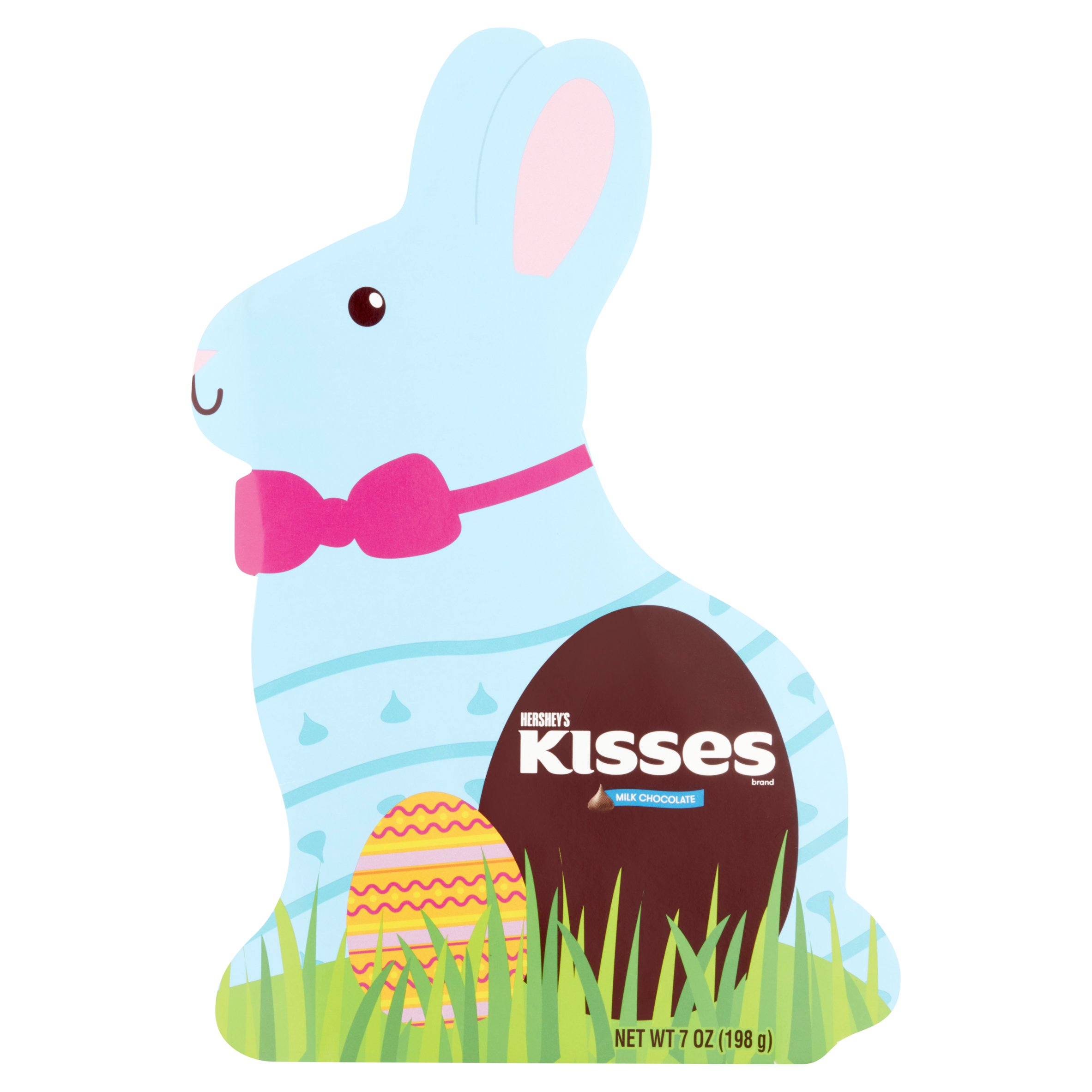 Hershey's Kisses Milk Chocolates in Easter Bunny Box, 7 oz by The Hershey Company