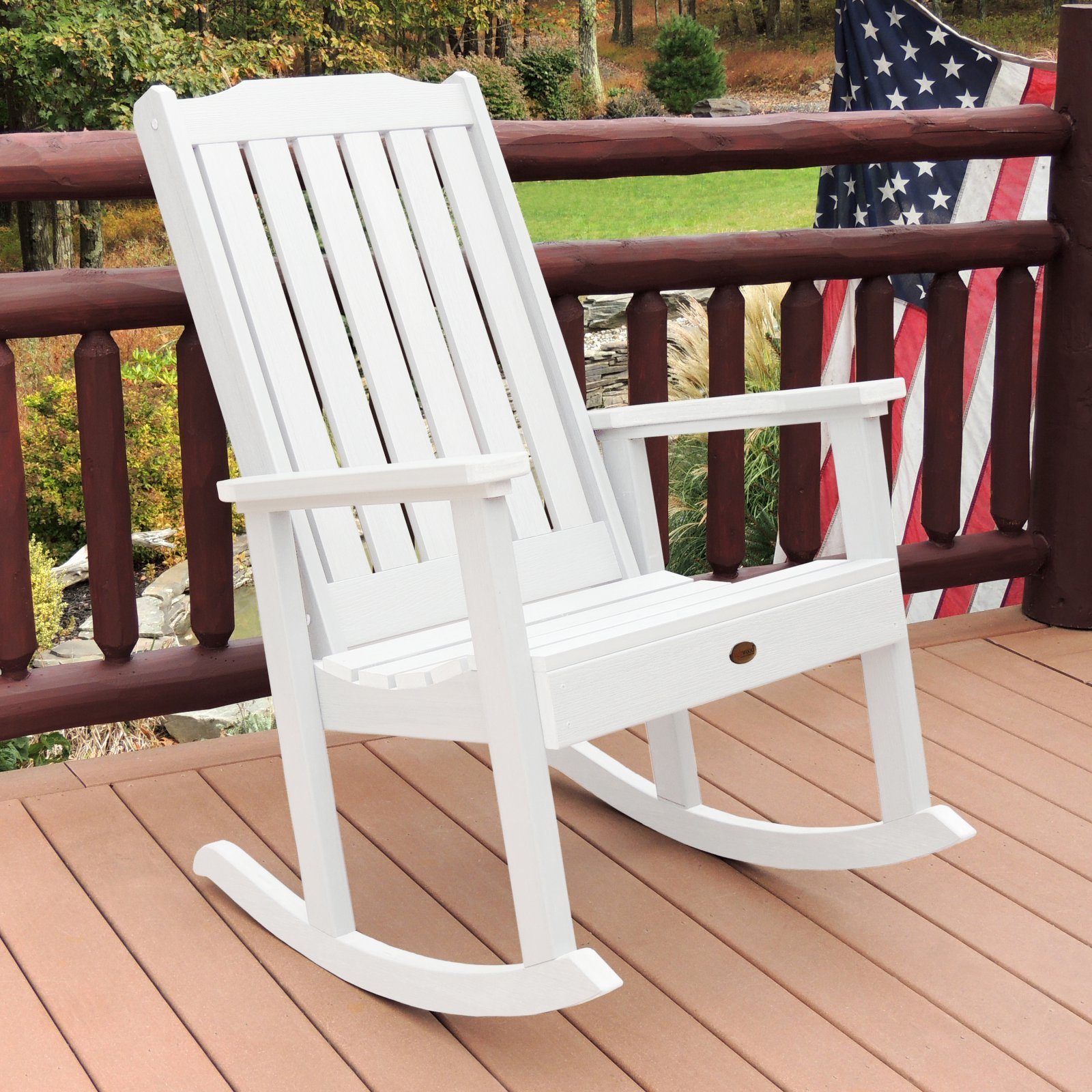 highwood Lehigh Recycled Plastic Rocking Chair by Highwood-USA