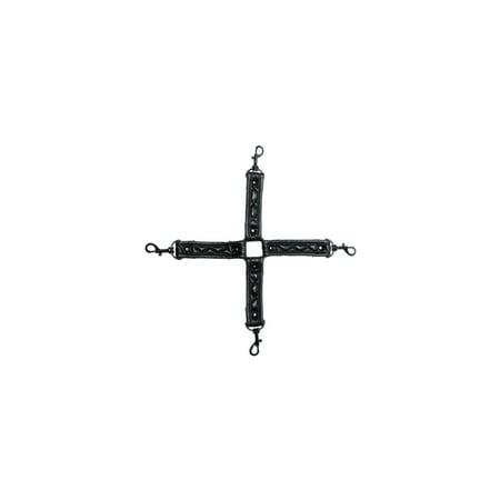 Allure Lingerie AL-2089 X-PLAY Quilted Hog Tie Hooks O/S / Black