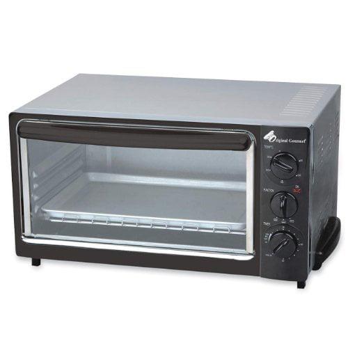 Coffee Pro Og22 Toaster Oven - Bake, Broil, Toast - Black (OG22)