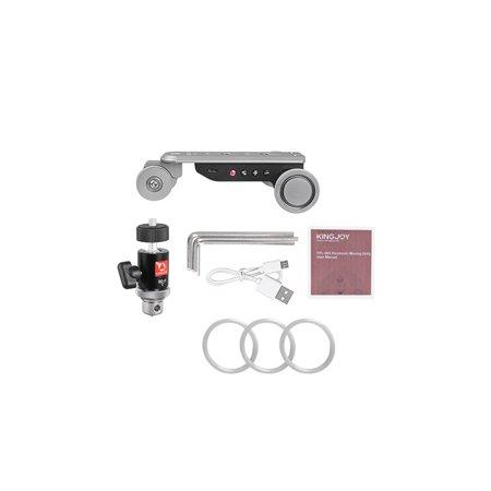 Kingjoy PPL-06S Enrouleur automatique à 3 roues 5 vitesses Enrouleur de voiture motorisé avec patin à glissière avec batterie USB rechargeable / tête à bille Alliage d'aluminium, max. Chargez 4kg - image 7 of 7
